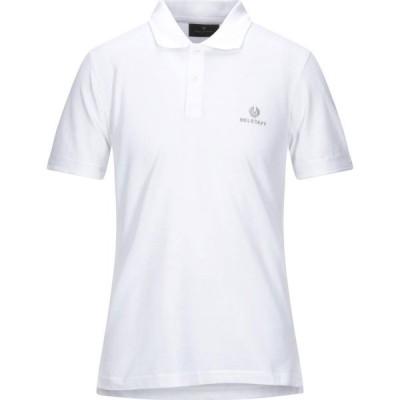 ベルスタッフ BELSTAFF メンズ ポロシャツ トップス Polo Shirt White