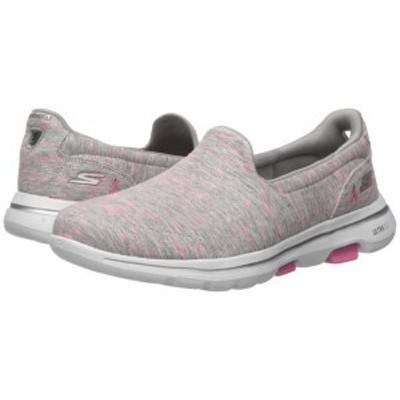 スケッチャーズ レディース スニーカー シューズ Go Walk 5 - 15044 Gray/Pink