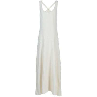 セオリー THEORY ロングワンピース&ドレス ホワイト 2 57% アセテート 43% レーヨン ロングワンピース&ドレス