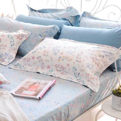 OLIVIA  Grace 標準單人床包歐式枕套兩件組 MOC莫代爾棉 台灣製