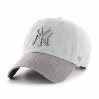 フォーティーセブン メンズ メンズ用アクセサリー 帽子 キャップ 47 new-york-yankees-2-tone-clean-up