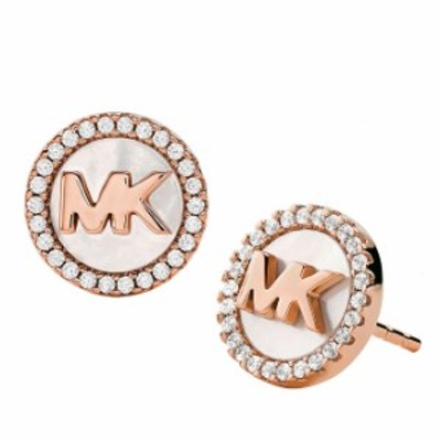 マイケルコース MICHAEL KORS ピアス Premium MOP Logo Pierce MKC1329AH791