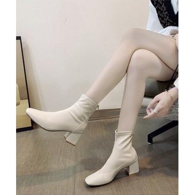 aimoha / フェイクレザーショートブーツ WOMEN シューズ > ブーツ