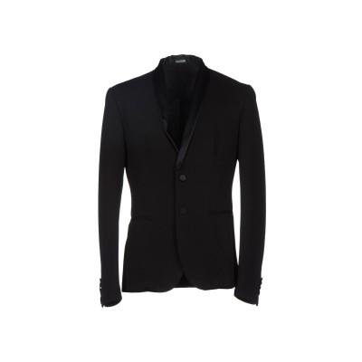 ダニエル アレッサンドリーニ DANIELE ALESSANDRINI テーラードジャケット ブラック 48 ポリエステル 95% / ポリウレタン