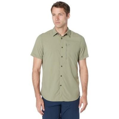 フェールラーベン シャツ トップス メンズ Abisko Hike Shirt Short Sleeve Savanna 1