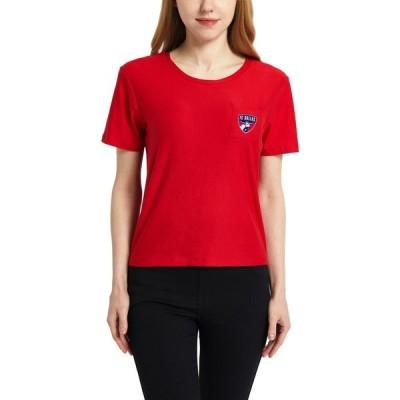 コンセプト スポーツ Concepts Sport レディース Tシャツ トップス FC Dallas Zest Red Short Sleeve Top