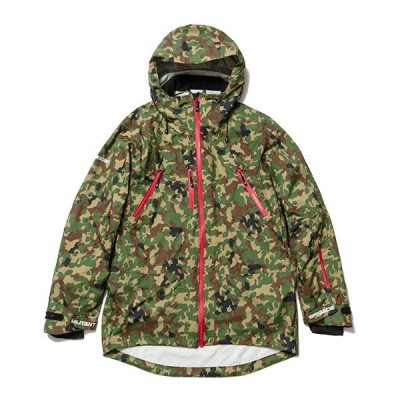 ナインルーラーズ その他ジャケット NINE RULAZ LINE Militant Brigade Snow Jakcet スノージャケット AFD ICE GEAR GORE-TEX 迷彩 カモフラ