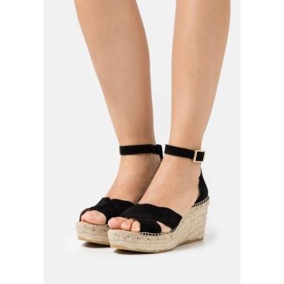 カンナ サンダル レディース シューズ CAPRI - Platform sandals - schwarz