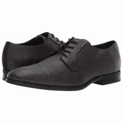 カルバンクライン 革靴・ビジネスシューズ Langston Dark Brown Small Tumbled Leather