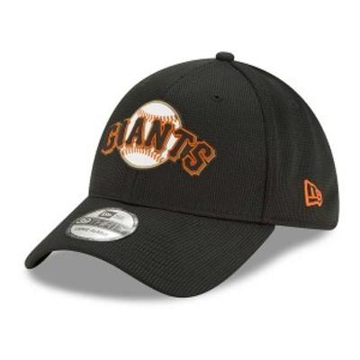 ニューエラ メンズ 帽子 アクセサリー San Francisco Giants   Clubhouse 39THIRTY Cap Black