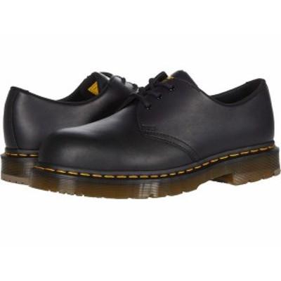 ドクターマーチン メンズ スニーカー シューズ 1461 Slip Resistant Steel Toe Black Industria