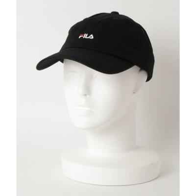 帽子 キャップ 【FILA】FLS SMALL LOGO LOW CAP