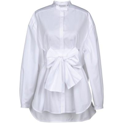エラリー ELLERY シャツ ホワイト 6 コットン 100% シャツ