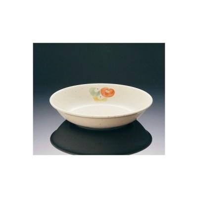メラミン ほのか 深菜皿 中 (166×35mm・430cc) マンネン/萬年[HO-268M] 業務用プラスチック製和食器