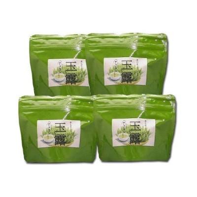 玉露 ティーバッグ お茶 八女茶 3g×15 TE-85 4袋セット ゆのみ用 八女茶の里