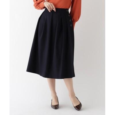 AG by aquagirl / 【美人百花11月号掲載】サキソニータックフレアスカート WOMEN スカート > スカート