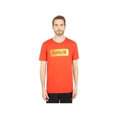 ハーレー One & Only Boxed Gradient Short Sleeve Tee メンズ シャツ トップス Chile Red