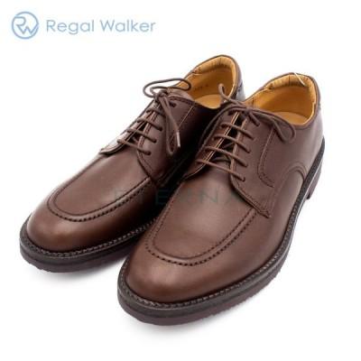 REGAL Walker リーガル ウォーカー メンズシューズ Uチップ レザー 軽量 痛くない 幅広 3E ダークブラウン 茶色102W