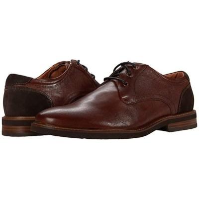 フローシャイム Highland Plain Toe Oxford II メンズ オックスフォード Cognac Smooth/Brown Sole