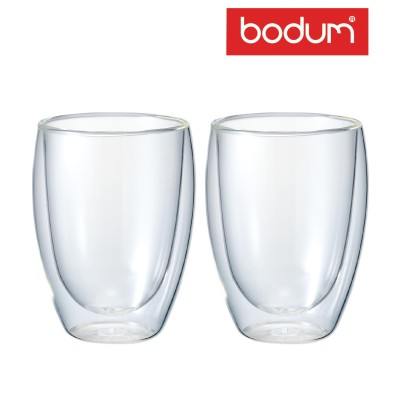 【送料無料】パヴィーナ ダブルウォールグラス0.36L 2個セット(bodum/ボダム)