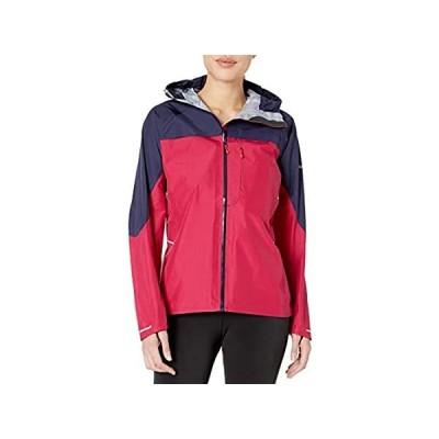 [新品]Berghaus Women's Vapour Storm Shell Jacket, Large, Dark Cerise/Evening Blue