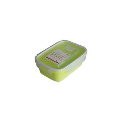岩崎工業 4901126316258 保存容器 スマートフラップ&ロックス 900ml(L) 1P グリーン【60個セット】