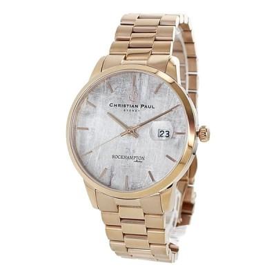 クリスチャンポール 腕時計 誕生日プレゼント オシャレ 文字盤 メンズ レディース