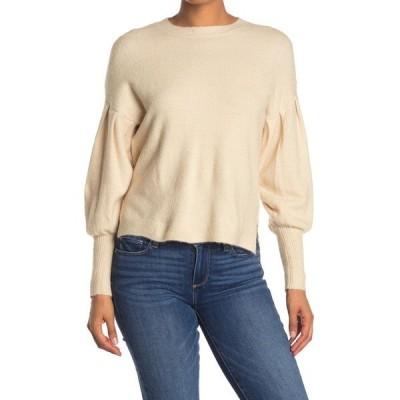 ハイファイブ レディース ニット&セーター アウター Bubble Sleeve Oversized Sweater CREAM