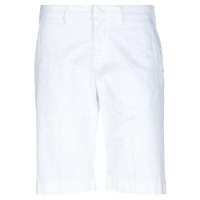 COROGLIO by ENTRE AMIS バミューダパンツ ホワイト 32 コットン 98% / ポリウレタン 2% バミューダパンツ