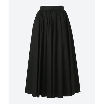 <ebure(women)/エブール> コットンサテン スカート black(097)【三越伊勢丹/公式】