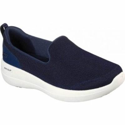 スケッチャーズ Skechers レディース スリッポン・フラット スニーカー シューズ・靴 GOwalk Stability Slip On Sneaker Navy