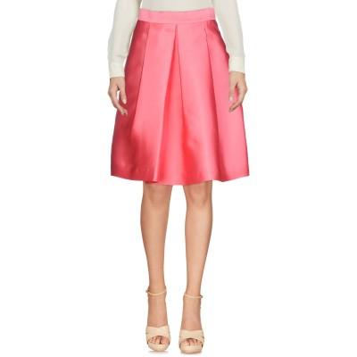 パロッシュ P.A.R.O.S.H. ひざ丈スカート ピンク S ポリエステル 75% / シルク 25% ひざ丈スカート