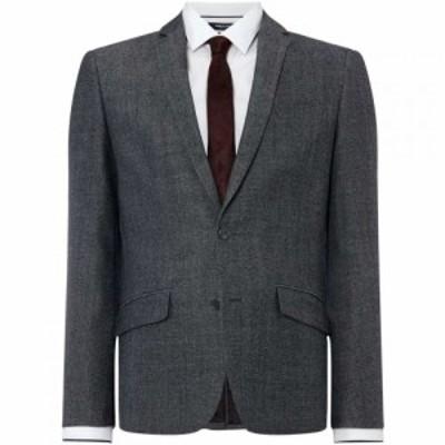 ケネス コール Kenneth Cole メンズ スーツ・ジャケット アウター Vancouver Knitted Texture Suit Jacket Charcoal