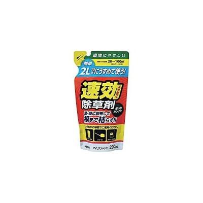 アイリスオーヤマ IRIS うすめて使う速効除草剤 200ML 0 [B011302]