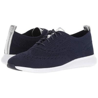 コールハーン 2.Zerogrand Stitchlite Oxford レディース スニーカー シューズ 靴 Marine Blue Knit/Ch Argento Metallic/Optic White