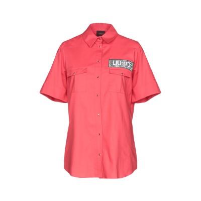 リュー ジョー LIU •JO シャツ レッド 40 コットン 97% / ポリウレタン 3% シャツ