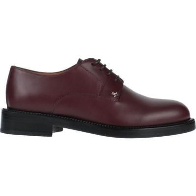 ランバン LANVIN メンズ シューズ・靴 laced shoes Maroon