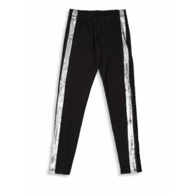 テレス キッズ ガールズ パンツ Girls Metallic Stripe Pants