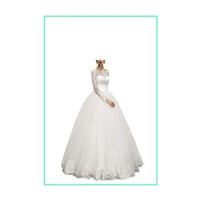 WeddingDazzle Wedding Dresses Ball Gown Sweetheart Wedding Gown Wedding Bridal for Women's US 14 White並行輸入品