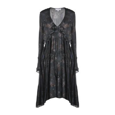 イロ IRO ミニワンピース&ドレス スチールグレー 34 シルク 100% ミニワンピース&ドレス