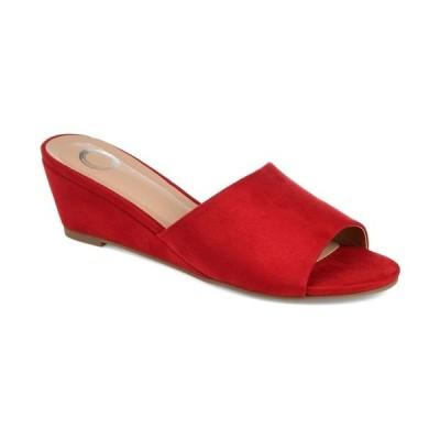 ジャーニーコレクション サンダル シューズ レディース Women's Pavan Slide Red