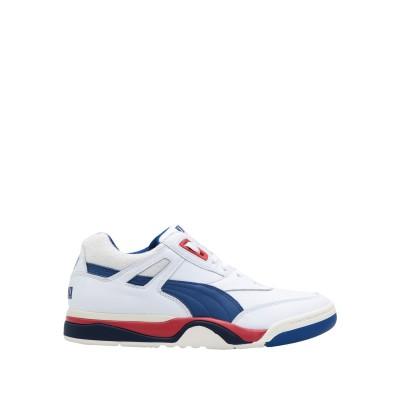 プーマ PUMA スニーカー&テニスシューズ(ローカット) ホワイト 9 革 / 紡績繊維 スニーカー&テニスシューズ(ローカット)
