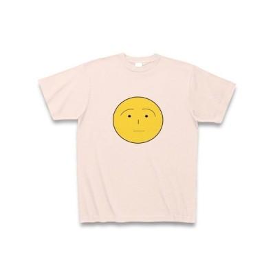 黄色い月 Tシャツ(ライトピンク)