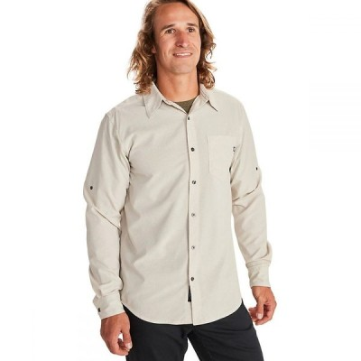 マーモット Marmot メンズ シャツ トップス Aerobora Long-Sleeve Shirt Light Khaki