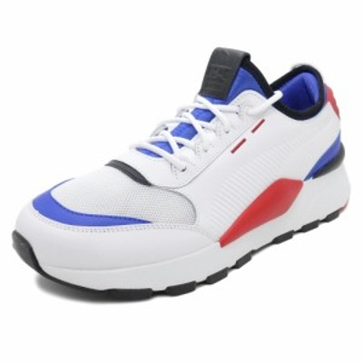 スニーカー プーマ PUMA RS-0808 ホワイト/ブルー/レッド メンズ レディース シューズ 靴 18FA