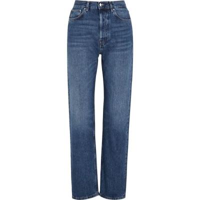 トーテム Toteme レディース ジーンズ・デニム ボトムス・パンツ Ease Blue Straight-Leg Jeans Blue