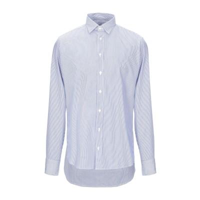 BASTONCINO シャツ ブルー 40 コットン 100% シャツ