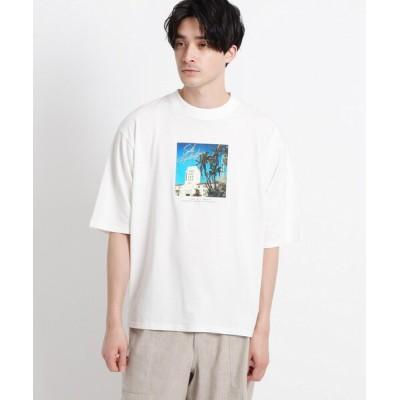 WORLD ONLINE STORE SELECT / 【CLASSY.6月号掲載/洗える】フォトTシャツ MEN トップス > Tシャツ/カットソー