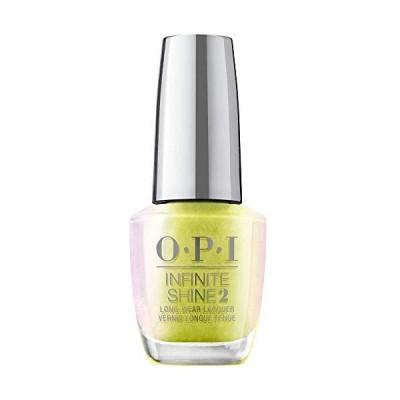OPI(オーピーアイ) ネイル マニキュア 速乾 セルフネイル ジェル風 黄色 ラメ(ISLSR2 オプティカル イリューサン) ネイルカラー サロン