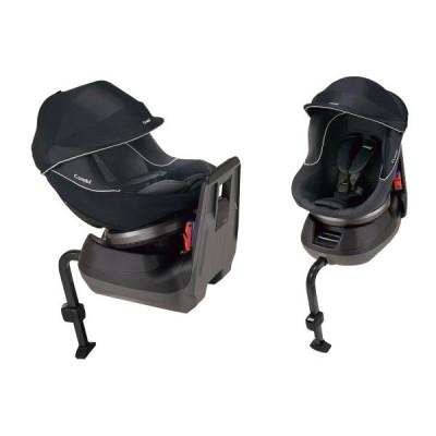 コンビ 新生児チャイルドシート クルムーヴ エッグショック PJ(ネイビー)シートベルト取り付け